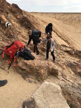 מאירות שביל ישראל בסנפיר הגדול