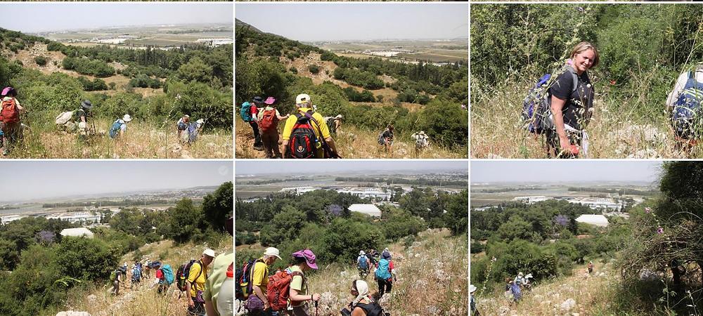מאירות שביל ישראל מסלול28  מגיעות ליגור מעוספיא