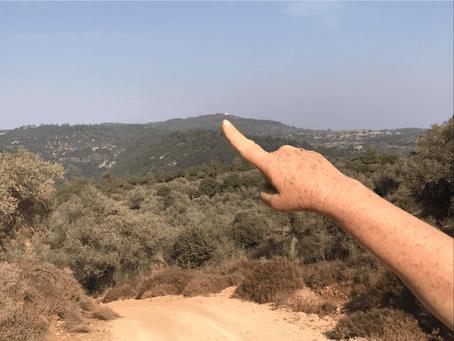 מאירות שביל ישראל מסלול 41 - המוחרקה ונחל רקפת