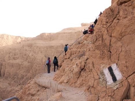 מאירות שביל ישראל מסלול 33 דרומה לנחל פרס עד צומת הערבה