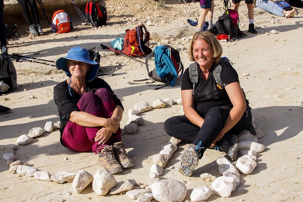 טיולי נשים מאירות שביל ישראל מסלול 43 עין עקב