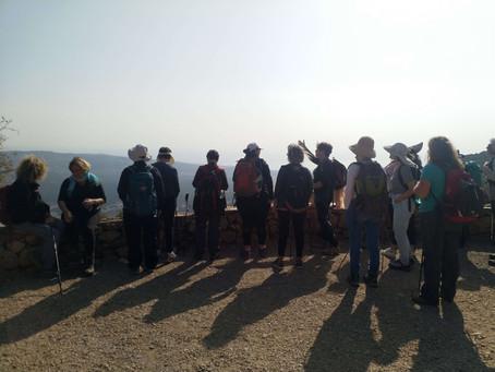 מאירות שביל ישראל מסלול 32 הר מירון משביל הפסגה לחניון פיתול