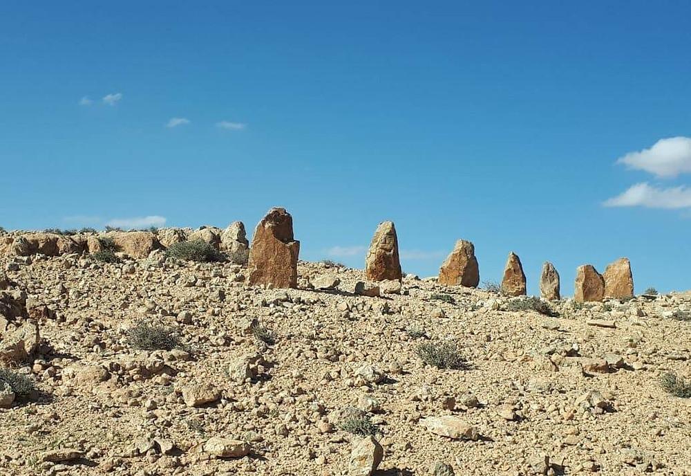 מאירות שביל ישראל במכתש רמון - קרני רמון