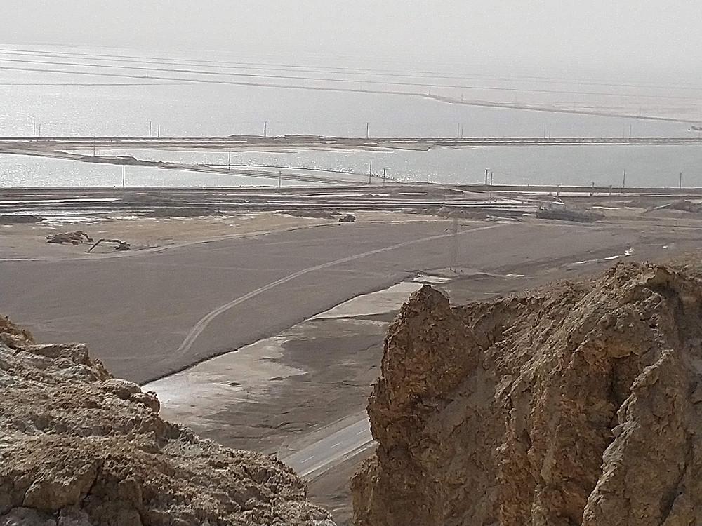 מאירות שביל ישראל בהר סדום במעלה המדרגות
