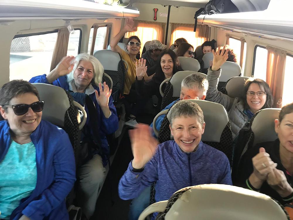 מאירות שביל ישראל  מסלול 27 נוסעות לגליל התחתון אל נחל תבור
