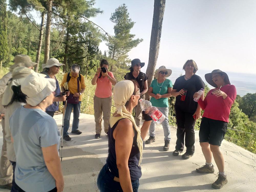 מאירות שביל ישראל נשים מטיילות יחד מסלול 28