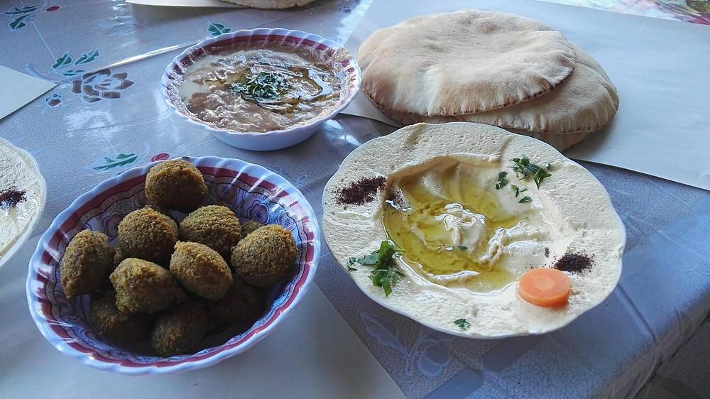 ארוחה בירדן