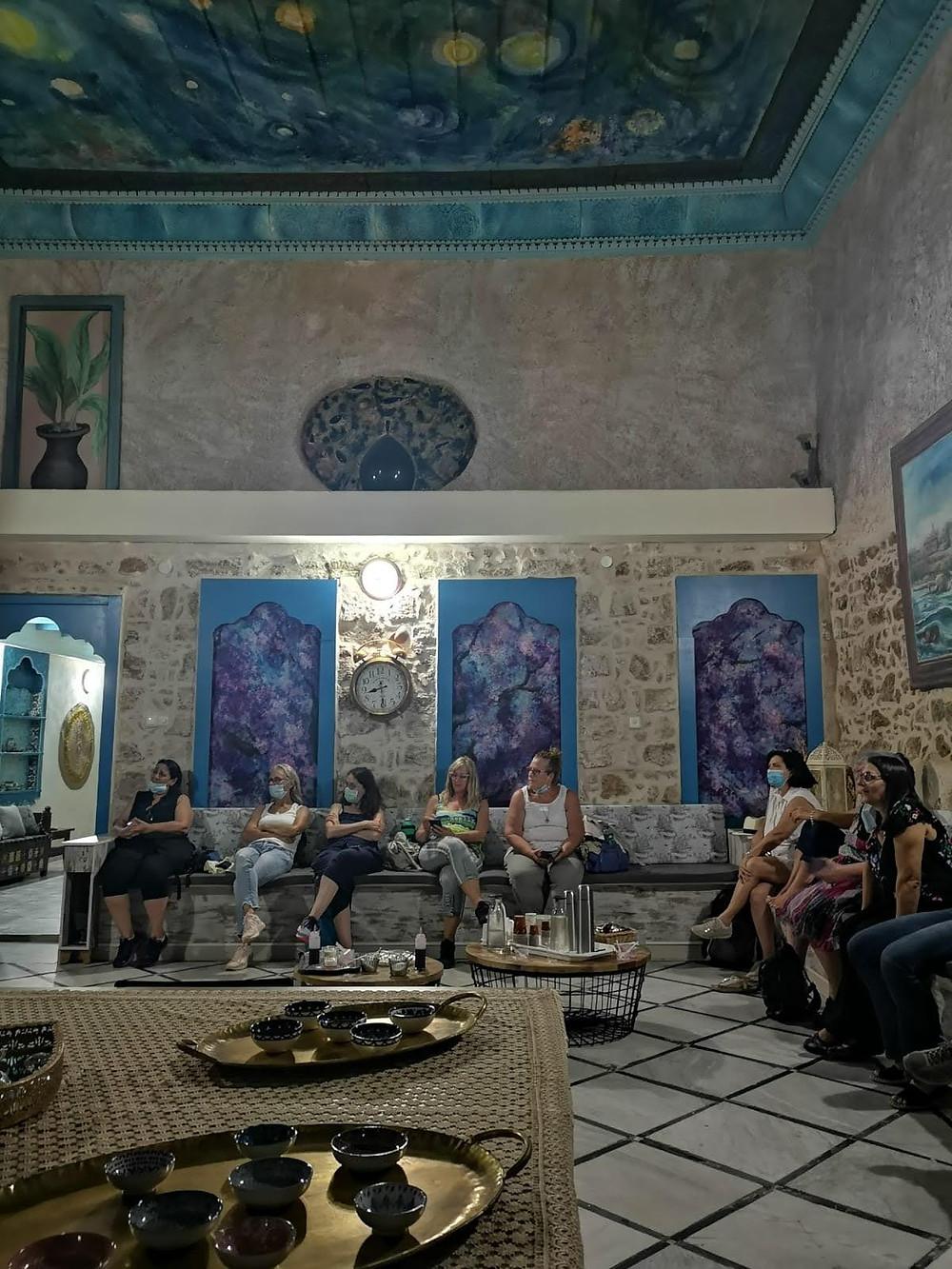 מאירות שביל ישראל בבית היסמין עכו העתיקה