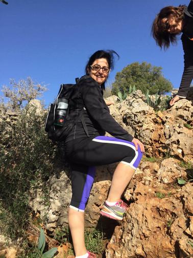 מאירות שביל ישראל בהר השאבי בגליל התחתון