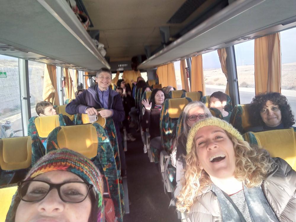 מאירות שביל ישראל בדרך למכתש הגדול