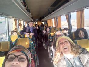 מאירות שביל ישראל נוסעות למכתש הגדול