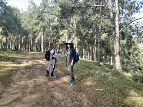 מאלון הגליל דרך חורשת ברושים הלכנו לאורך שביל ישראל