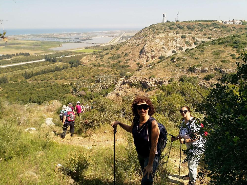 מאירות שביל ישראל ברמת הנדיב מסלול 38