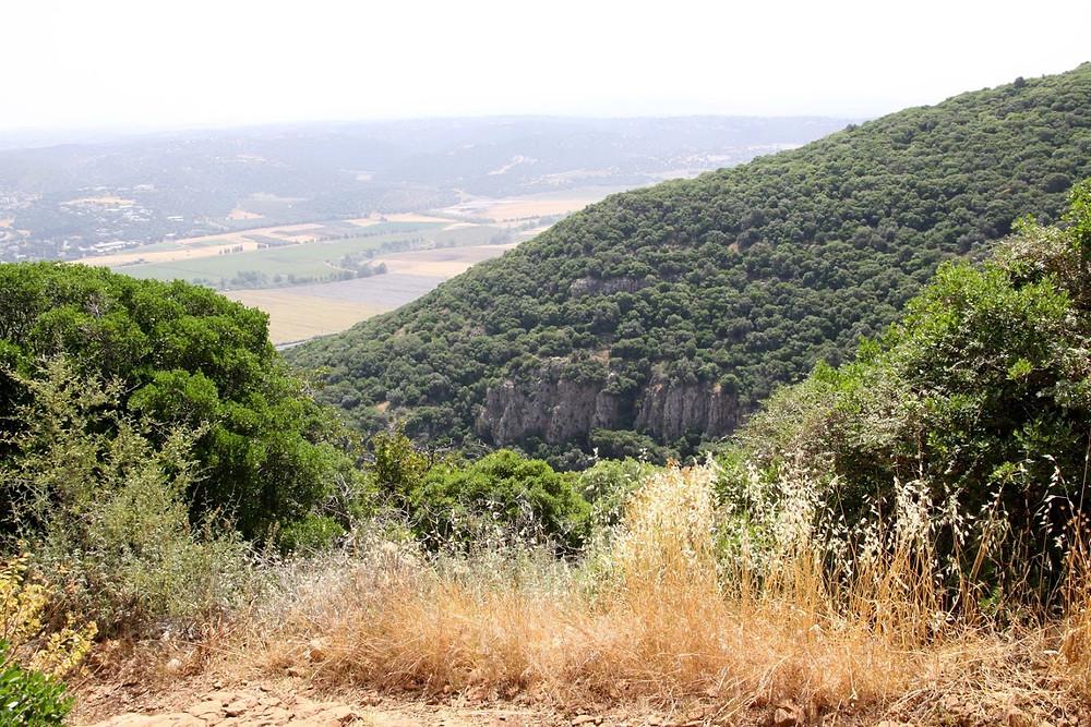 מאירות שביל ישראל  מסלול 28 מעוספיא ליגור