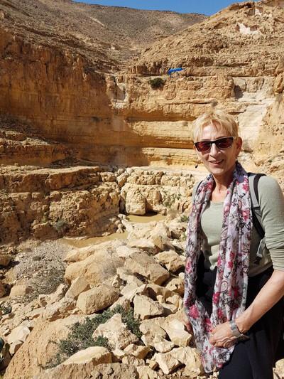 מאירות שביל ישראל בנחל קינה