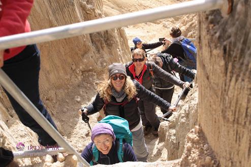מאירות שביל ישראל במעלה הסולמות בהר סדום