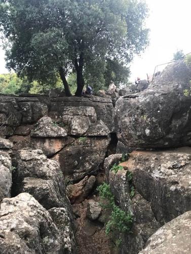 מאירות שביל ישראל מסלול 17 נקיקי יפתח