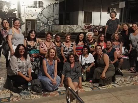 מאירות שביל ישראל בסיור  טעימות וגרפיטי קיץ 2016