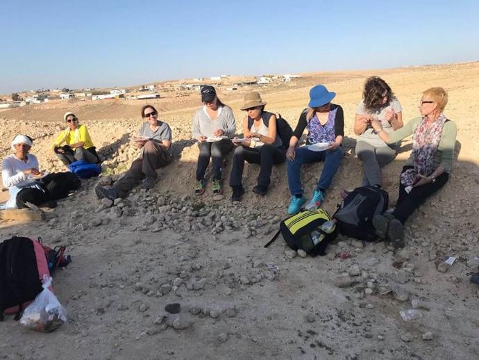 מאירות שביל ישראל במדבר יהודה