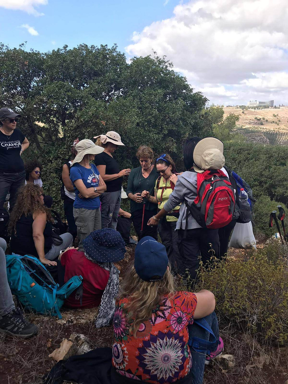 מאירות שביל ישראל בהר דבורה