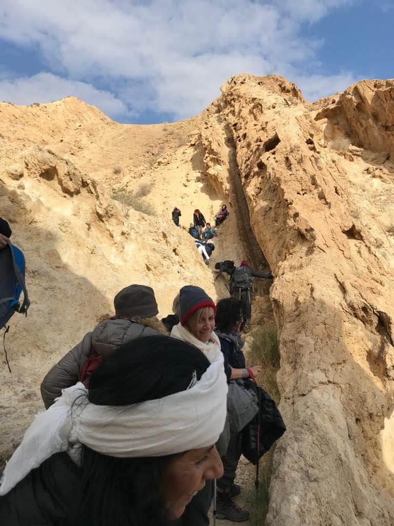 מאירות שביל ישראל עולות בסנפיר הגדול.