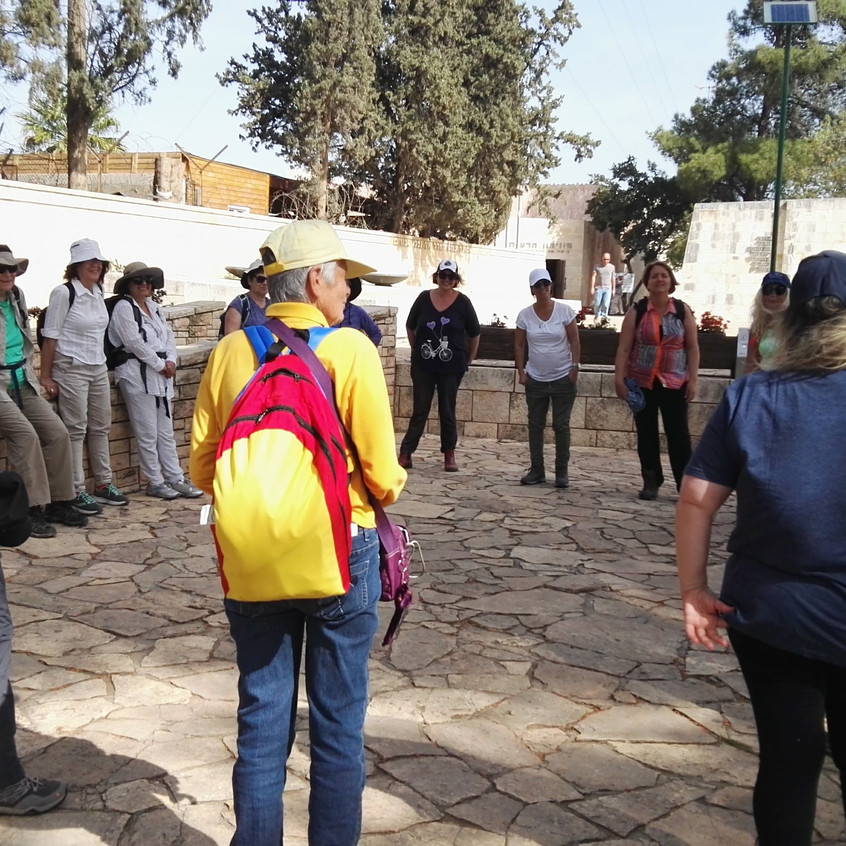 """מעגל היכרות מאירות שביל ישראל מסלול 17 במצודת ישע/כ""""ח"""