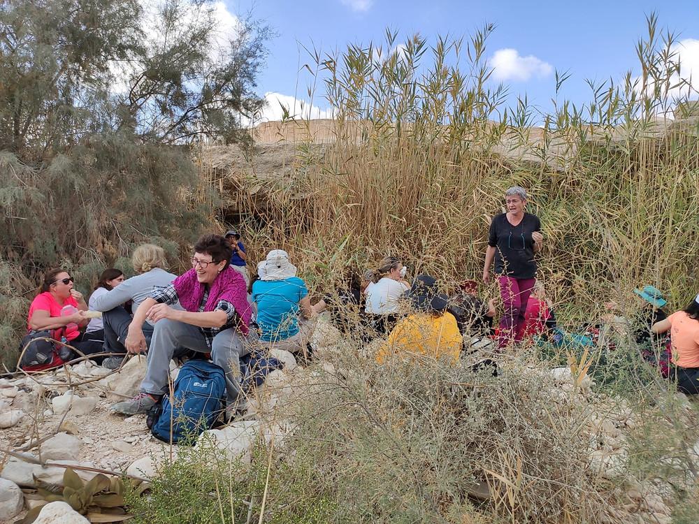 טיולי נשים, מאירות שביל ישראל מסלול 43 עין עקב נחל צין מעלה דבשון