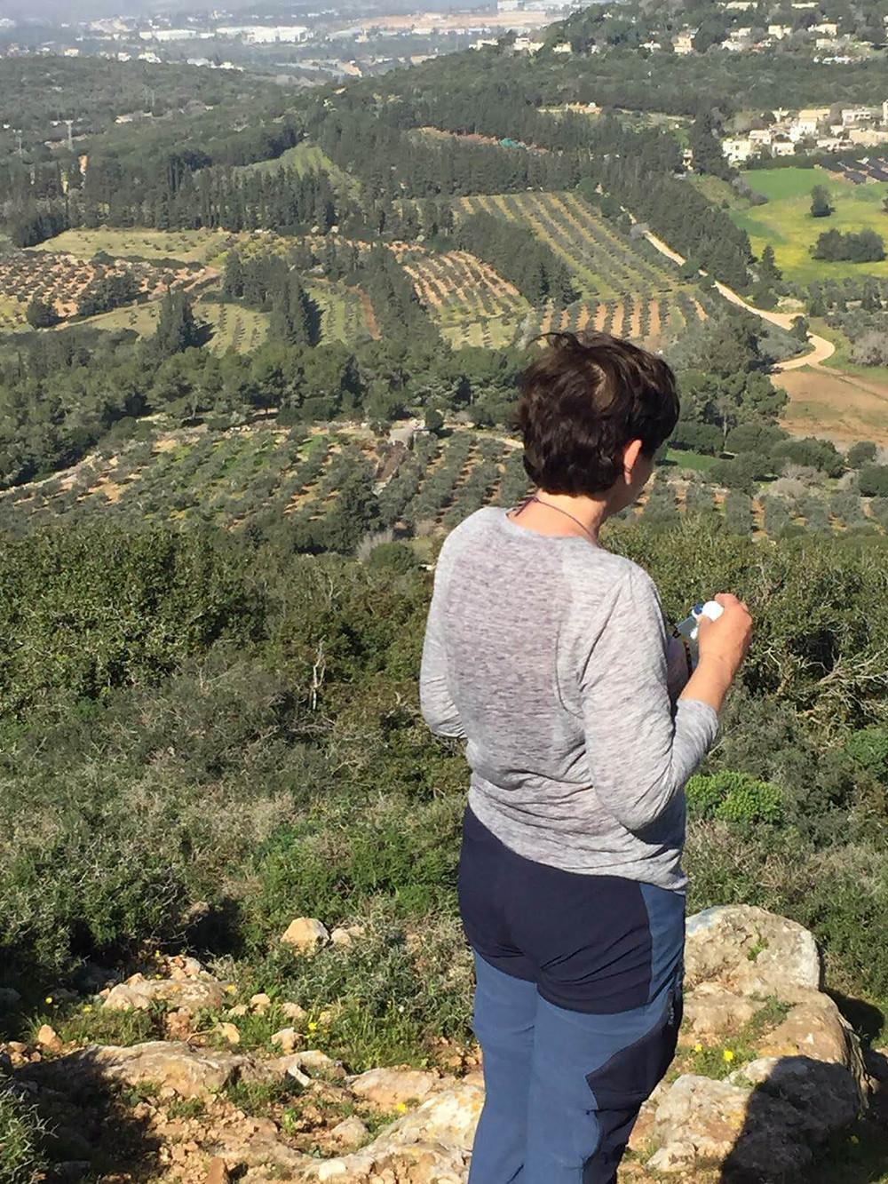 שילה דביר בהר עצמון עם מאירות שביל ישראל מסלול24