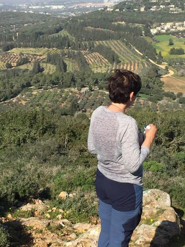 מאירות שביל ישראל בהר עצמון