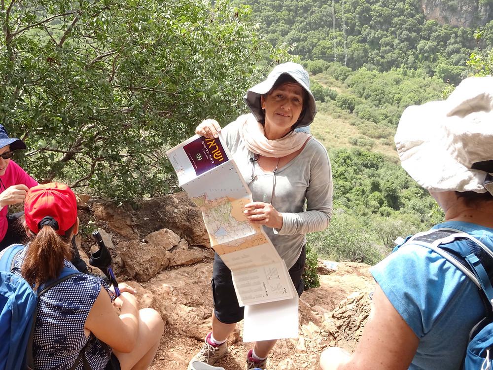 מאירות שביל ישראל 'על המפה' עם שילה דביר