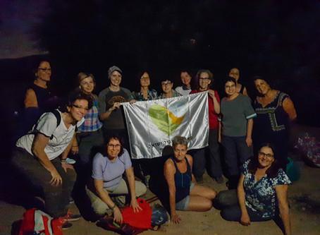 מאירות שביל ישראל בטיול לאור ירח