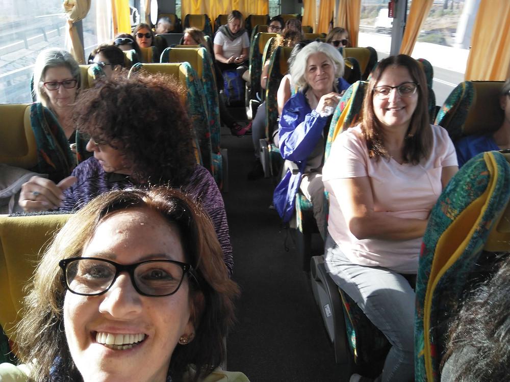 מאירות שביל ישראל מסלול 21 באוטובוס לגליל -