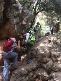 מאירות שביל ישראל מסלול 17 נחל קדש