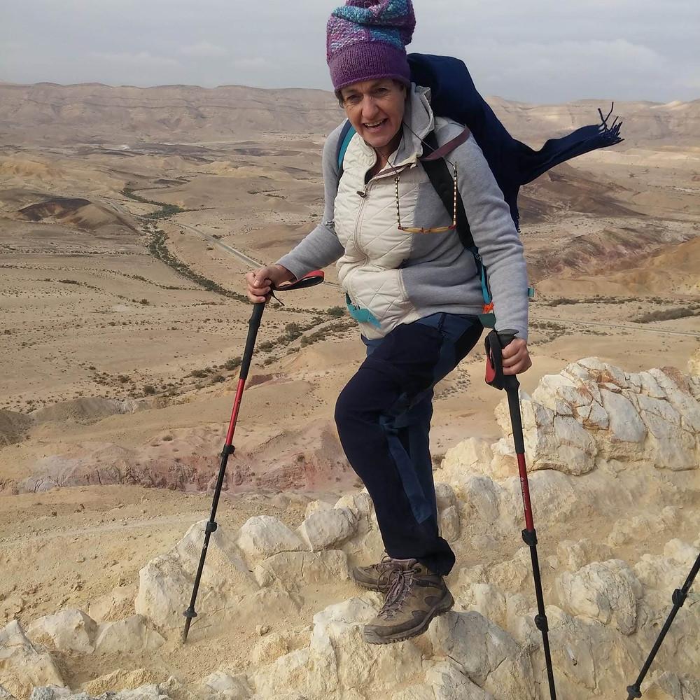 מאירות שביל ישראל במכתש הגדול עם שילה דביר