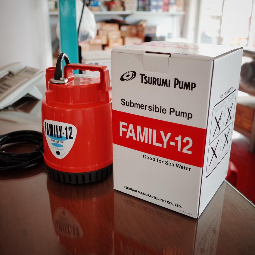 ปั๊มแช่ Tsurumi Family-12