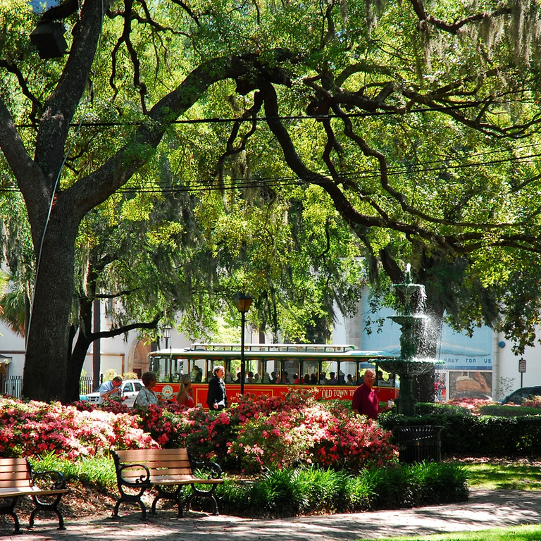 SOLD OUT, Possible Second bus  2022 Savannah, Charleston April 25~ April 30, 2021 $748.00 per person double (2)