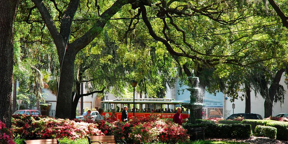 2021 ~ SOLD OUT Savannah, Charleston April 26~ May 1, 2021 $748.00 per person double (1)
