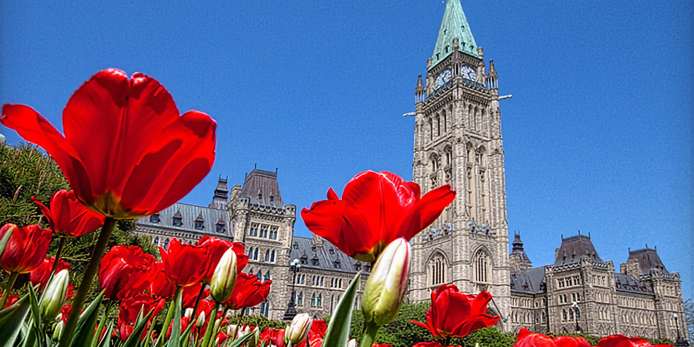 Rescheduled 2021 Tulip Time in Montreal & Quebec City & Canada's Capitol City-Ottawa