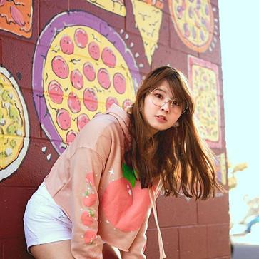 🍑 Peach Bun 🍑_Cropped hoodies pre-orde