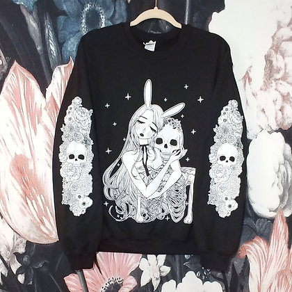 Garden Sweatshirt - Black