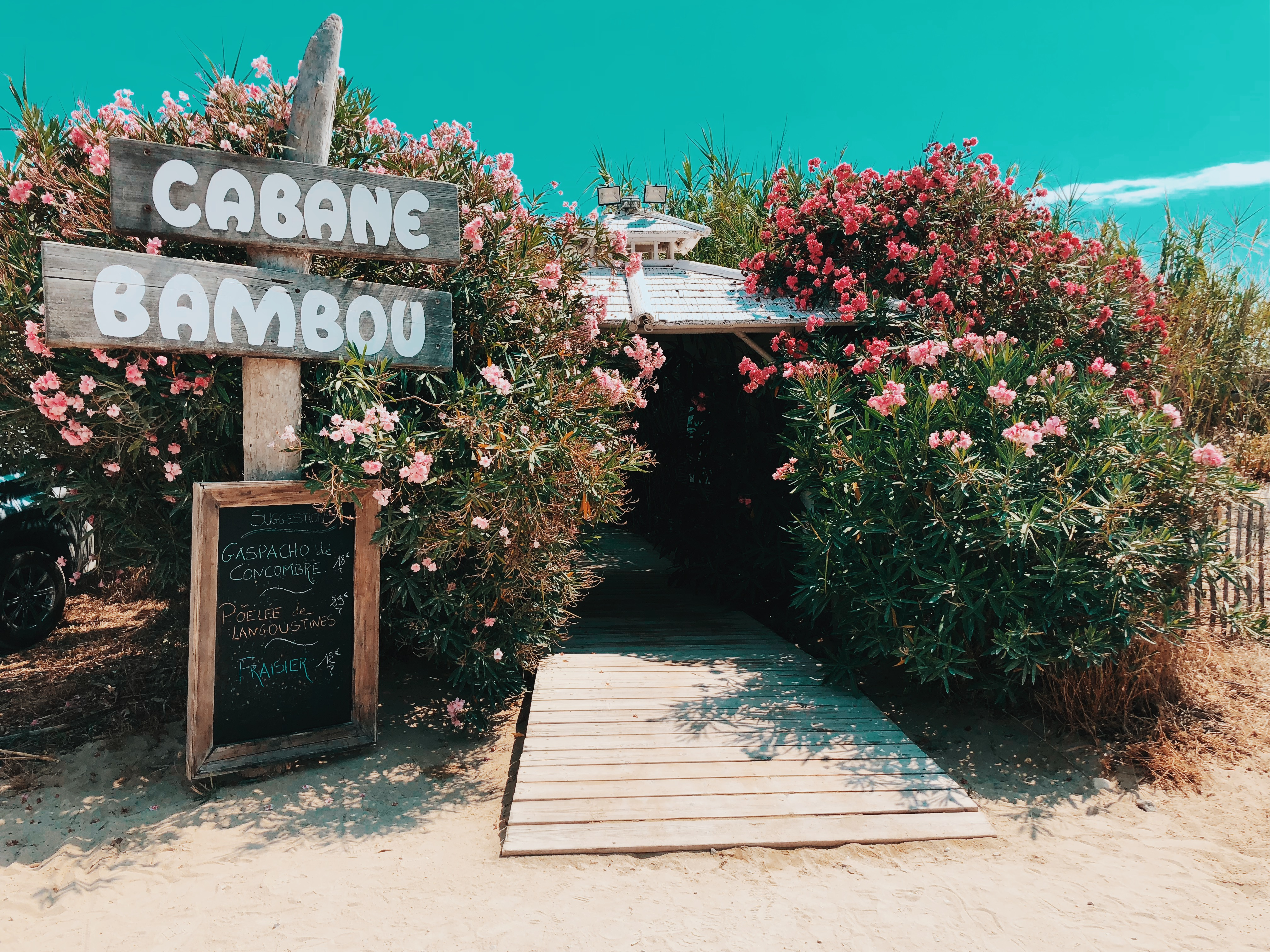 Cabane Bambou Saint Tropez