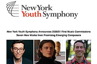 New York Youth Symphony First Music Commission