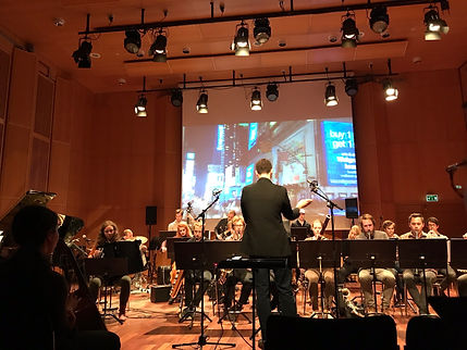 """Conducting """"Edvard"""" at HISTORIEFORTELLING: New Music by Ben Morris."""
