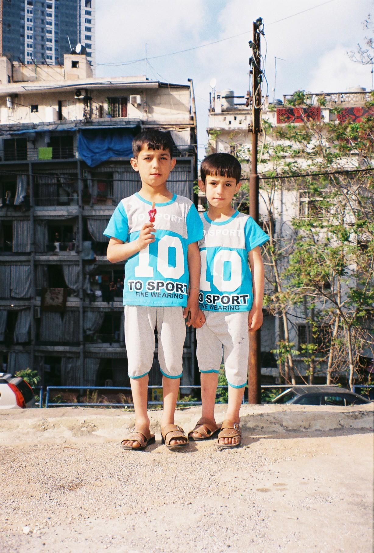 Syrian refugees, Beirut 2017.