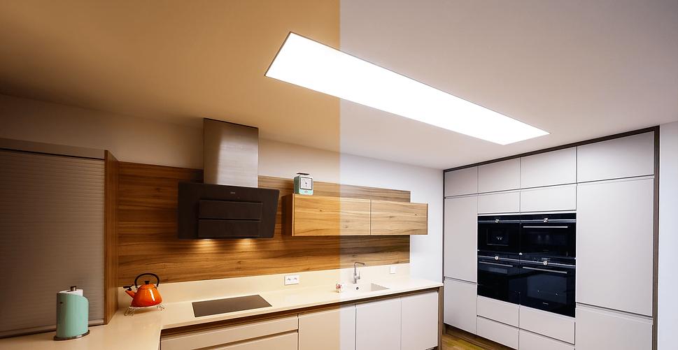 teple svetlo studene svetlo nastavitelna teplota bieleho svetla svetelnestropy LED osvetlenie