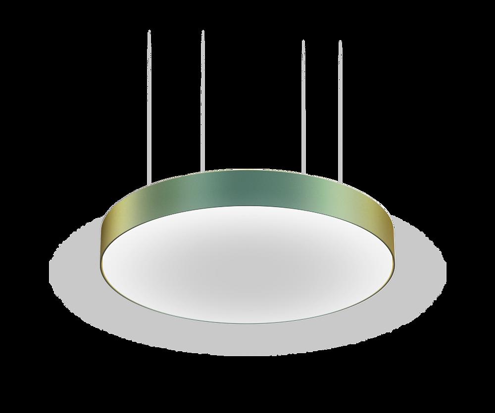 kovový dekór LED svietidla na mieru svetelné stropy