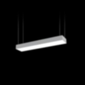 LED osvetlenie obdlznikoveho tvaru svetelne stropy