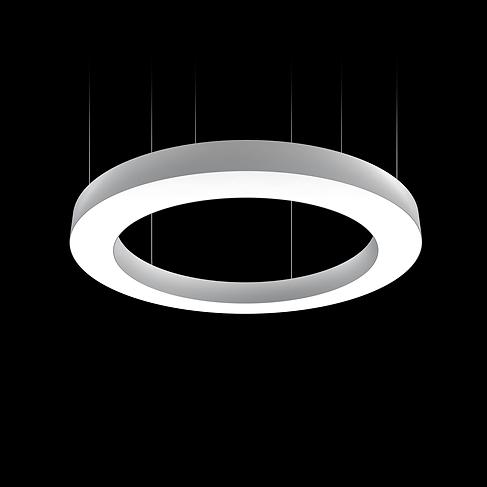 LED osvetlenie prstncoveho tvaru svetelne stropy
