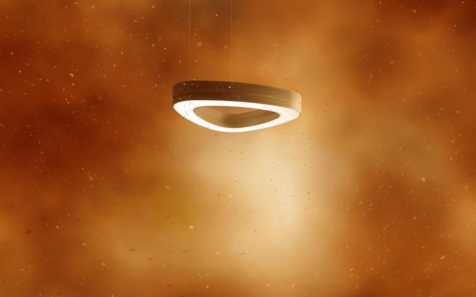 LED osvetlenie svetelne stropy prstencovy svetelny strop LOOP Tprachotesnosť bezúdržbovosť svetelného stropu