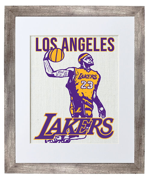 Los Angeles Lakers (LEBRON JAMES)